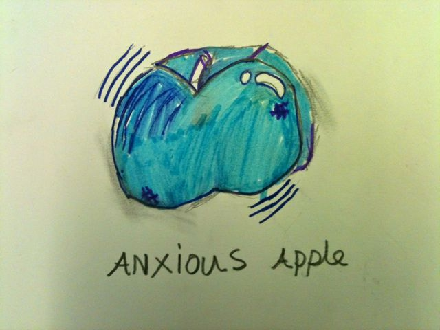 Anxious Apple