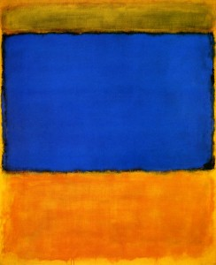 Blue Cloud by Mark Rothko (1956)