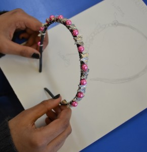 Making Hairbands at the Children's Art School Holiday Jewellery-Making Course