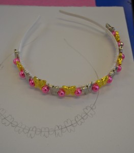 Making Hairbands at the Children's Art School holiday jewellery-making course with Charlene Braniff
