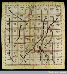 L0035004 Snakes and Ladders (Game of Heaven & Hell)