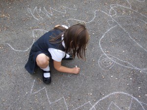 Taking lines for a walk in the playground  (7)