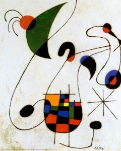 Melancholic Singer Joan Miro