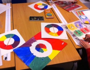 Week 1 &2 - mixing colour wheel (1)